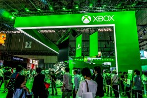 Xbox booth at TGS