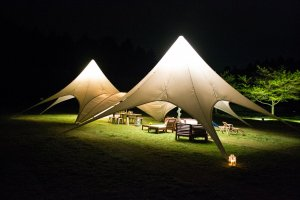 Exquisite tents in Romantic-mura
