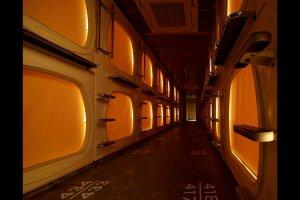 The capsule floor