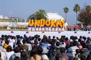 Undokai opening ceremony