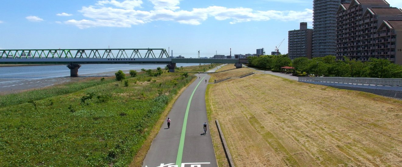 Arakawa River Running/Cycling Trail