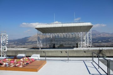 Private concerts at Mt. Aso