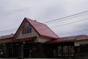Kawayu-Onsen Station on JR's Semmo Line