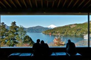 The Narukawa Art Museum's view of Mt. Fuji