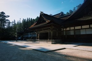 The large Kongobuji Temple