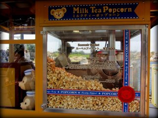 One of the highlights of the park is the popcorn - tasting all of the unique flavors is definitely an experience
