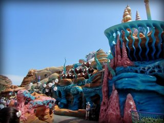 Mermaid Lagoon is really stunning, not just for the sculptures but also the mosaic work