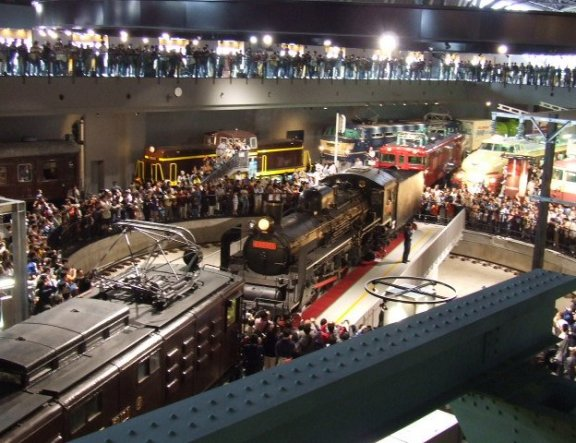 The Railway Museum in Omiya