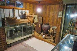 Displays in Heike Folk Museum