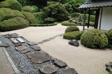 Le Jardin Sec du Temple Raikyu-ji