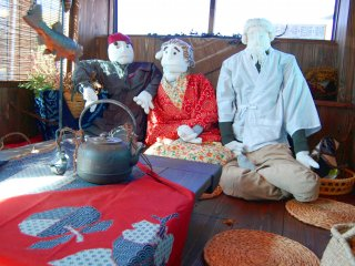 The popular scarecrows of Iya valley