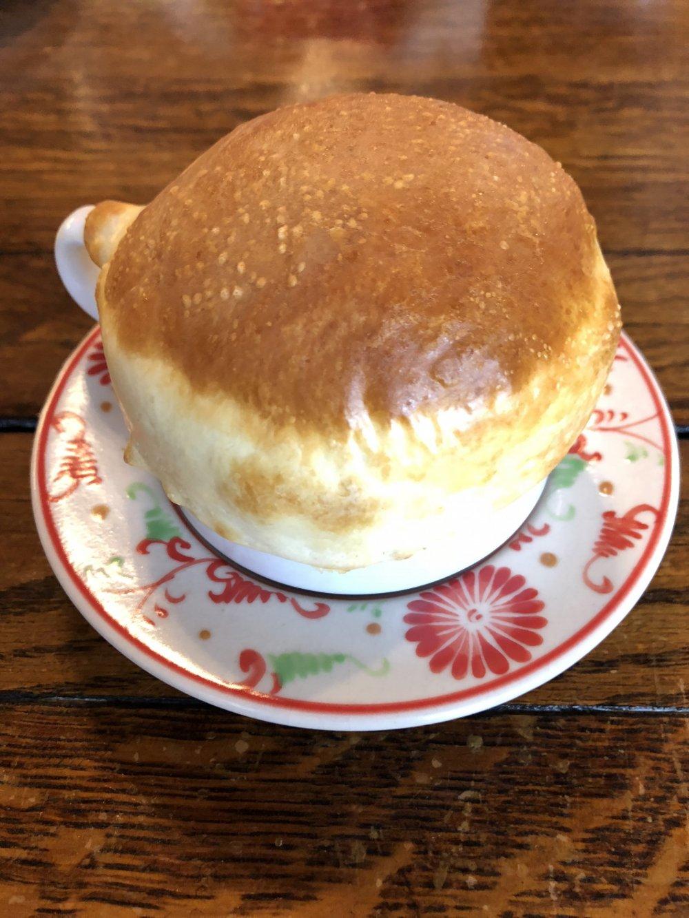 Pot pie mushroom soup
