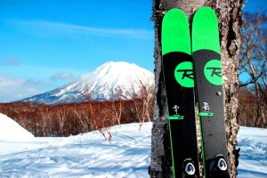 The Niseko Hanazono Ski area looks like Hokkaido's equivalent to Mount Fuji