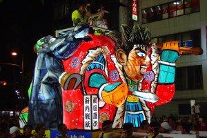Oita Tanabata festival float