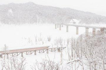 Winter in Yubari
