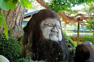 Boddhidarma statue (Daruma-ishi)