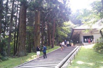 Le Chūson-ji à Hiraizumi