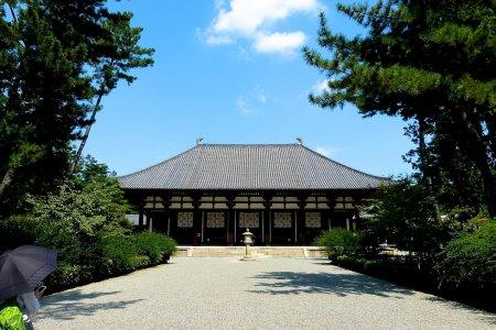 Toshodai-ji, Nara no Outono
