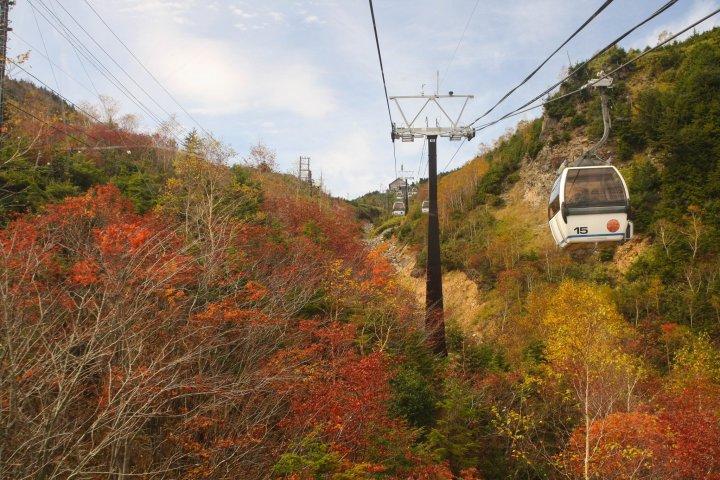 Mt Shirane Ropeway