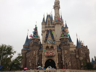 Welcome to Dinsey Land in Tokyo