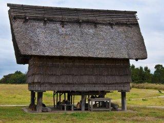 Une autre maison surélevée à Minami-no-mura
