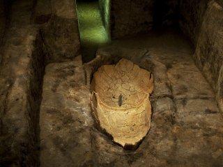 Une urne funéraire authentique à Kita-funkyubo