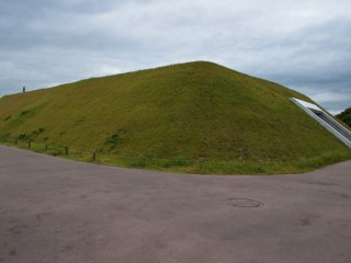 Kita-funkyubo : Ceci serait le lieu de sépulture particulière où les dirigeants successifs de Yoshinogari reposeraient
