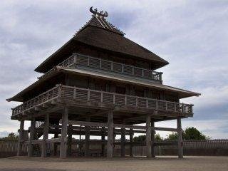 Salle de cérémonie à Kita-naikaku : le lieu utilisé pour les cérémonies et festivals
