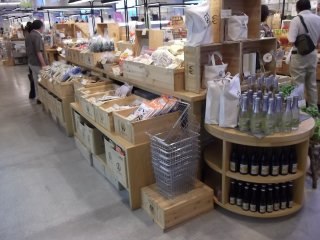 There's a huge range of local food products to choose from