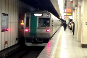 Wifi is available at many subway stations in Central Kyoto