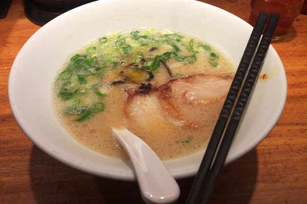The Shiromaru motoaji is a good introduction if you are new to ramen. This original pork recipe is the basis of  a classic hakata type ramen.
