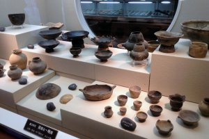 Pottery literally thousands of years old are on display at this Jomon history and culture museum.