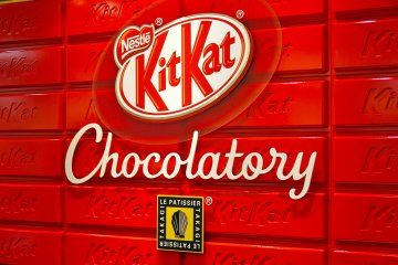 Chocolaterie KitKat à Tokyo