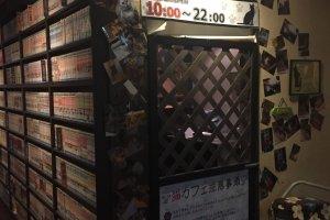 Entrance to Neko Cafe