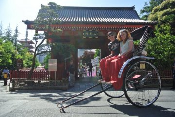 Ride a Rickshaw in Japan!