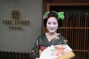 Enjoy a Private Maiko Performance During Your Stay at The Junei Hotel