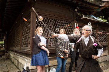 Kyoto Walking Tour with Last Samurai