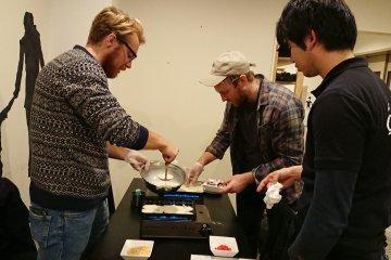 Osaka Takoyaki Making Class