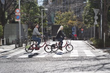 Pre-book Your One-Day Tokyo Share Bike Pass