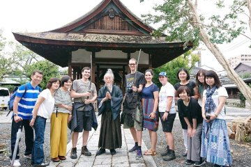 Semi-private Kyoto Walking Tour with Last Samurai