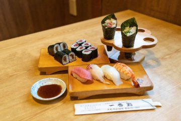 Sushi Making Experience in Omachi