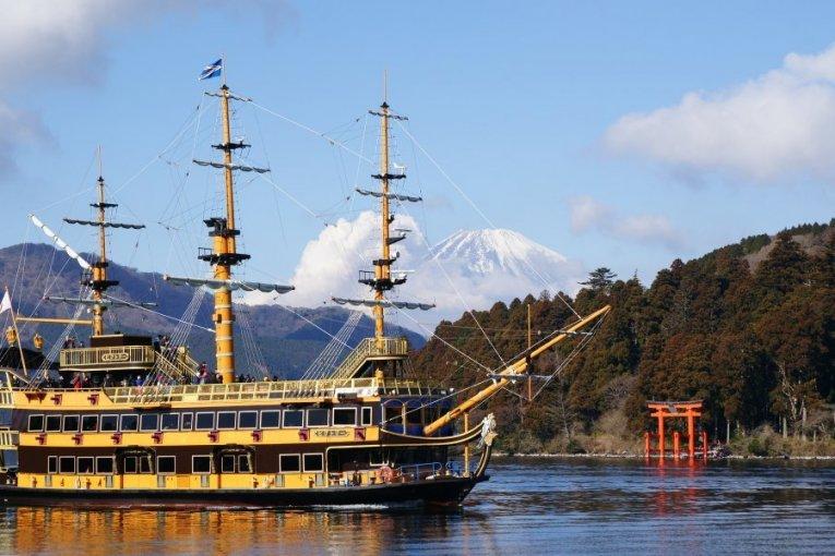 Mt Fuji Tour: Pirate Ship Cruise, Discount Shopping