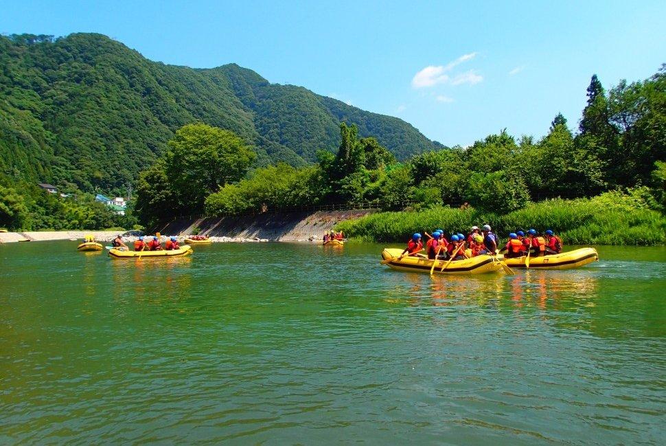 Summer WhiteWater Rafting