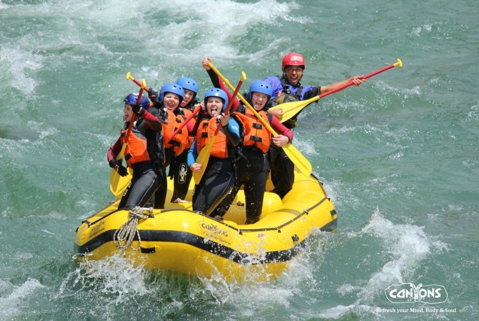 Spring WhiteWater Rafting
