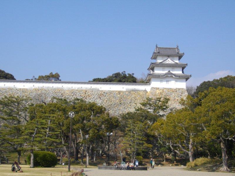 Akashi Park And Akashi Castle Hyogo Japan Travel Tourism