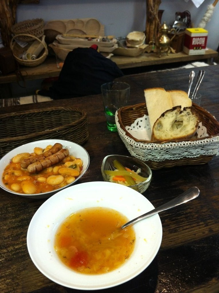Soup, stew and bread