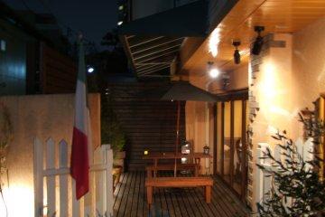 <p>Outdoor patio</p>