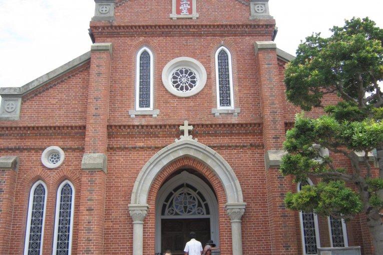 長崎、上五島巡り 2: 青砂ヶ浦天主堂