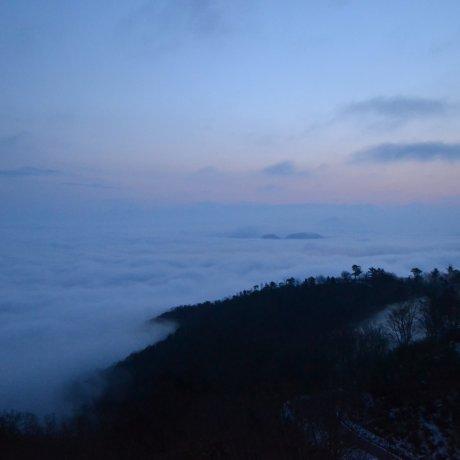 Biển mây ở Gorogatake