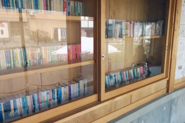 <p>Free books you can read during your stay.&nbsp;</p>